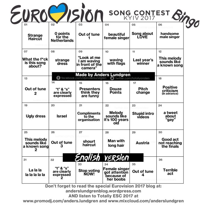 Eurovision 2017 ENG 2