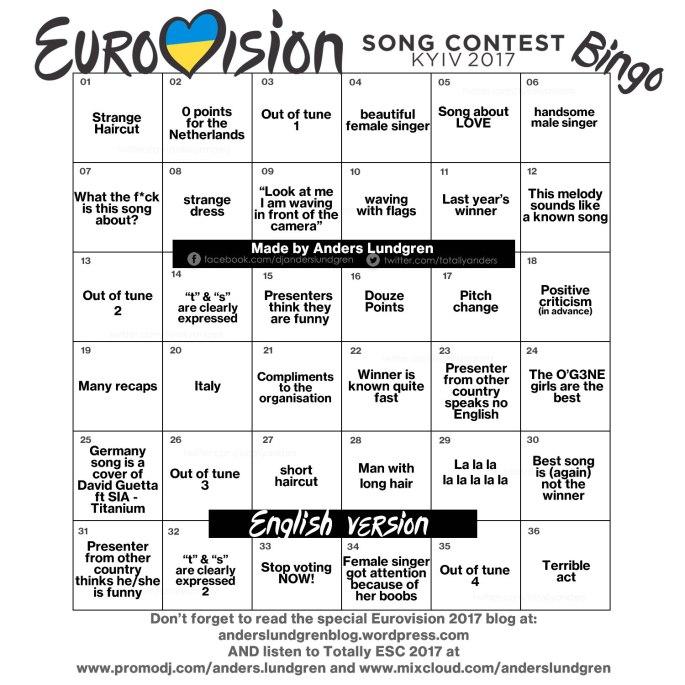 Eurovision 2017 ENG finals
